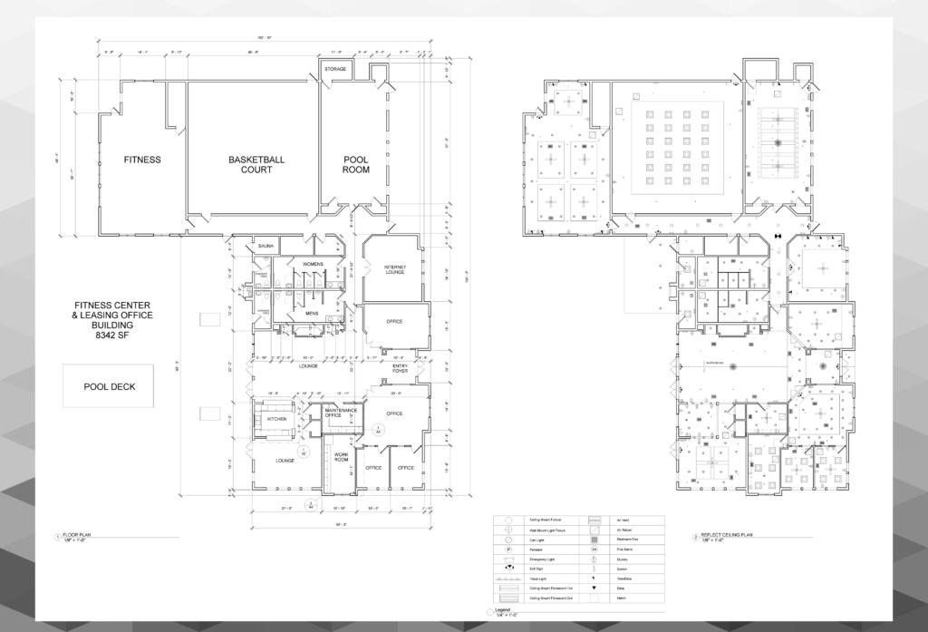 Apartment Complex Recreational Space