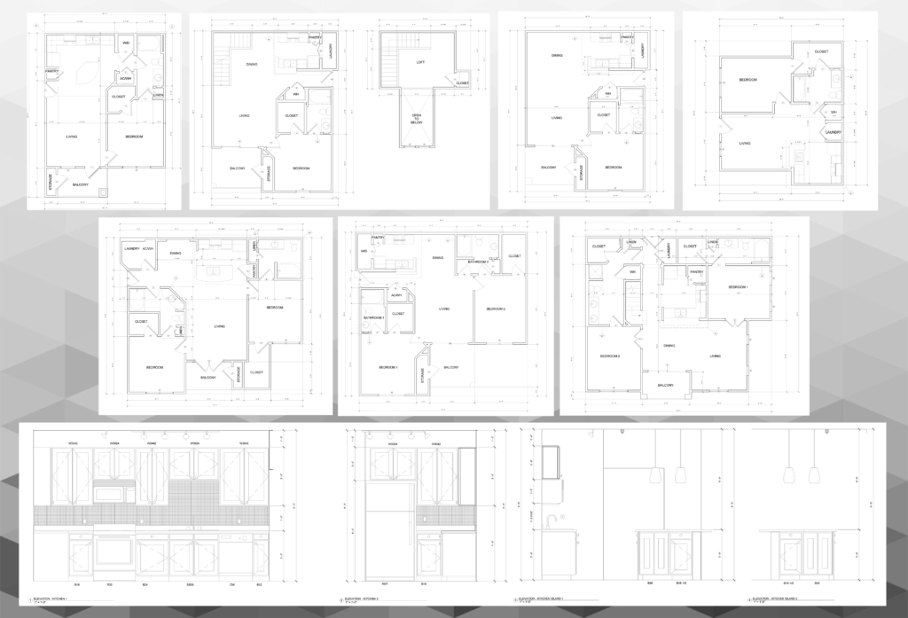Apartment typical units renovation cost & material estimations.